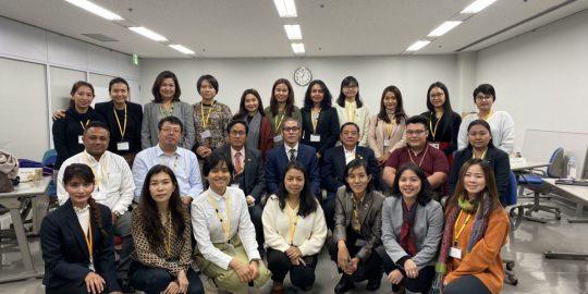 一般財団法人 海外産業人材育成協会(AOTS)のミャンマーリーダーシップコースにて講演